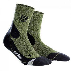 CEP Dynamic+ Outdoor Merinowolle Mid-Cut Socken