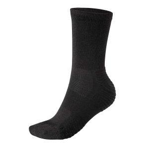 Woolrockers Wandersocke schwarz Merino