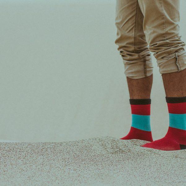 Socken von Danisch Endurance im Sand