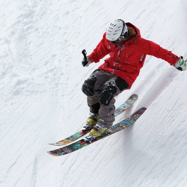 Skier on the slopes