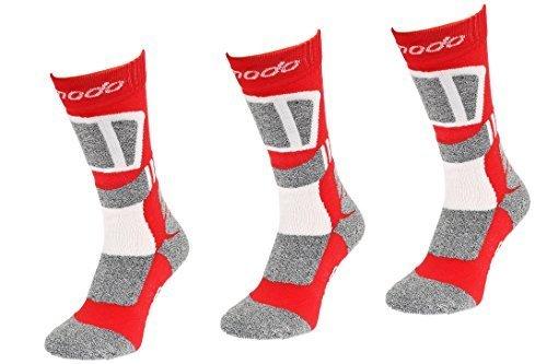 SMP1 Sport Comodo 3 Paar Bequeme Merino Jagd-Socken Angeln Trekking Anti-Zecken Wandersocken M/ücken 65/% Merino-Wolle