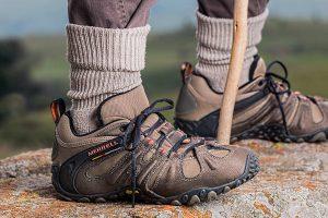 Trekking Socken aus Wolle